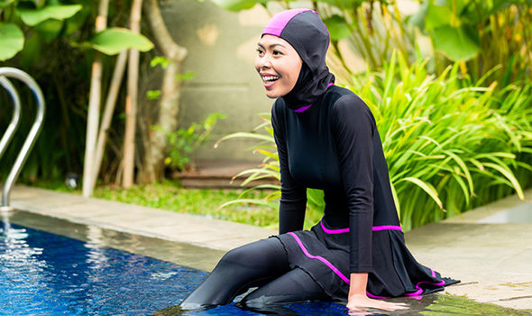 Getty Images Burkini Stock Photo